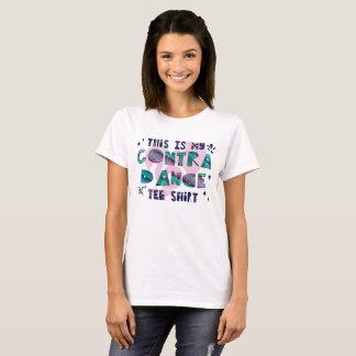 Isto é meu contra a camiseta da dança