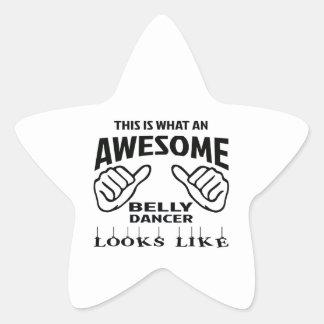 Isto é que dança do ventre impressionante olha adesito estrela