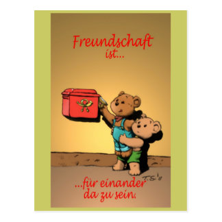 ISTs de Freundschaft… Cartão Postal