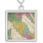 Italia Antiqua Colar Com Pendente Quadrado