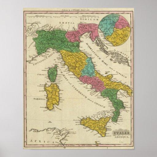 Italia Antiqua Impressão