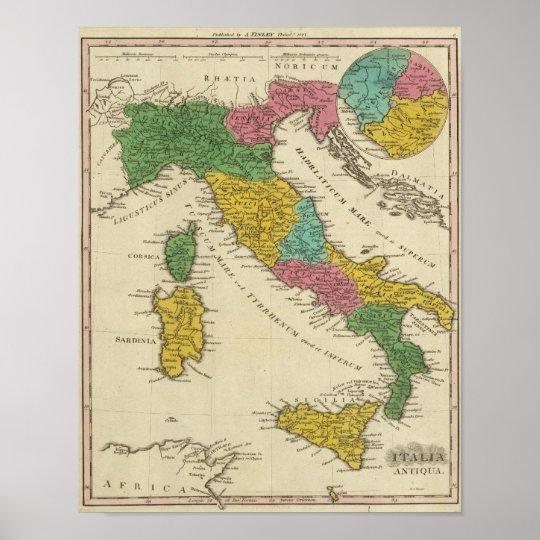 Italia Antiqua Pôster