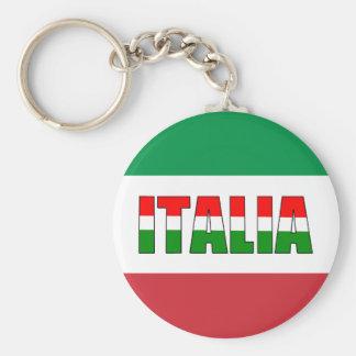 Italia-Bandeira de Italia Chaveiros