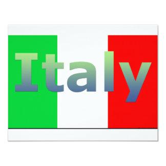 Italia Convite 10.79 X 13.97cm