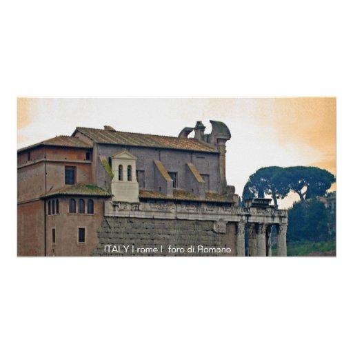 ITALIA mim Roma mim foro di Romano Cartões Com Fotos