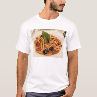 Italia, Positano. Placa da massa e da beringela Camiseta