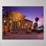 Italia, Sicília, Palermo, ópera de Teatro Massimo Posters
