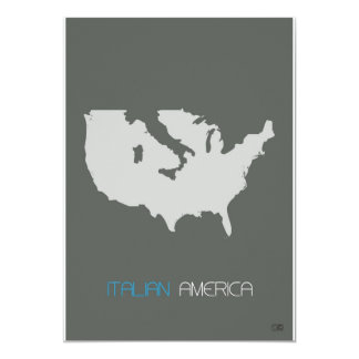Italiano América Convite Personalizado