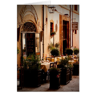 Italiano Cafe Spoleto Italia - cartão