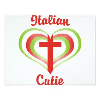 Italiano Cutie Convites Personalizado