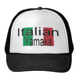 Italiano engraçado Yamaka do chapéu Bone