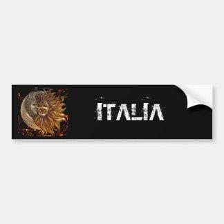Italiano Sun & máscaras de Carnaval da lua Adesivo Para Carro