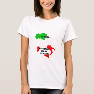 italianos melhora camiseta