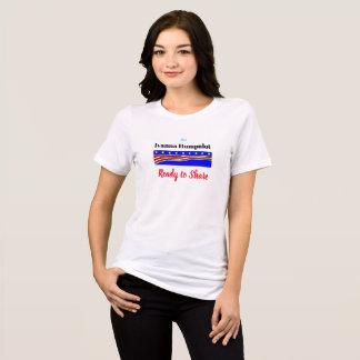 Ivanna Humpalot pronto para compartilhar da camisa