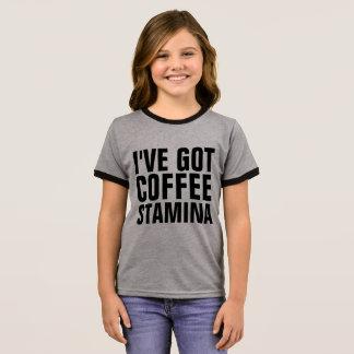 I'VE OBTEVE camisetas engraçadas do VIGOR do CAFÉ,