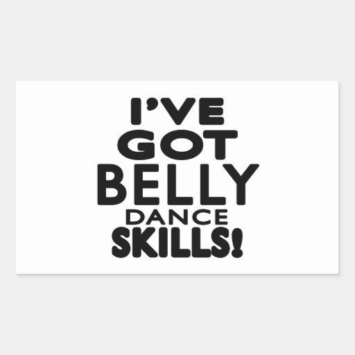 I've obteve habilidades da dança do ventre adesivo
