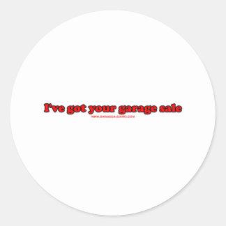 I've obteve sua venda de garagem adesivo