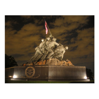 Iwo Jima no cartão da noite