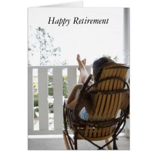 j0430950, aposentadoria feliz cartão comemorativo