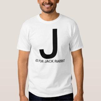 J é para o coelho de Jack Camiseta