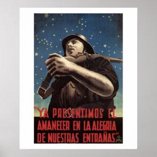 Já nós detectamos o poster do morning_Propaganda Pôster