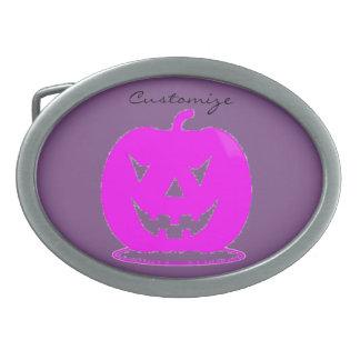 Jack cor-de-rosa o Dia das Bruxas o'lantern