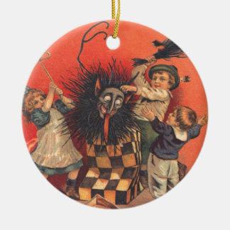 Jack-Em-UM-Box de Krampus Enfeite Para Arvore De Natal
