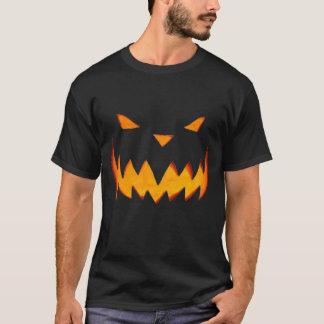 Jack-o-lanterna da camisa do Dia das Bruxas