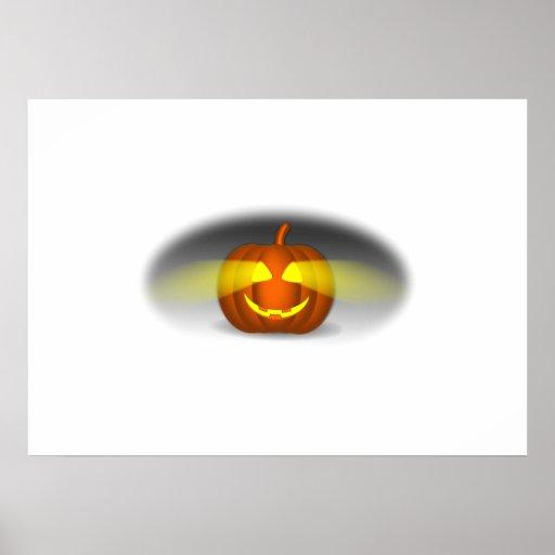 Jack-O-Lanterna do Dia das Bruxas Impressão
