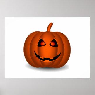 Jack-O-Lanterna do Dia das Bruxas Poster