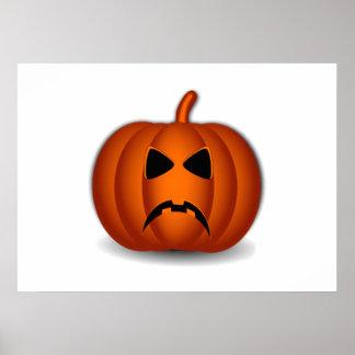 Jack-O-Lanterna do Dia das Bruxas Posteres