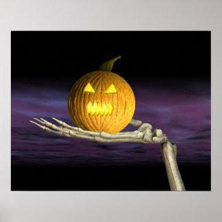Jack-o-Lanterna - poster do Dia das Bruxas