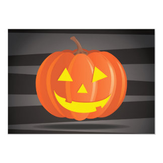 Jack O'Lanterns! Convite 12.7 X 17.78cm