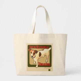 Jack Russell Terrier Bolsa Tote Grande