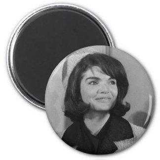Jackie Kennedy Ímã Redondo 5.08cm