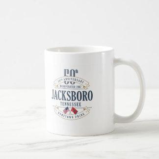 Jacksboro, caneca do aniversário de Tennessee 50th