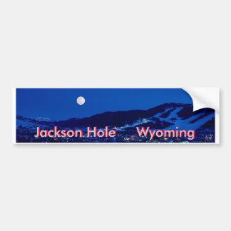 Jackson Hole 1 Adesivo Para Carro