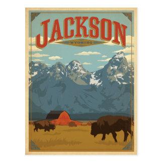 Jackson, WY Cartão Postal