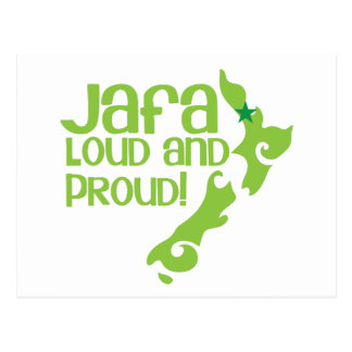 JAFA alto e orgulhoso! (Nova Zelândia Auckland) Cartão Postal