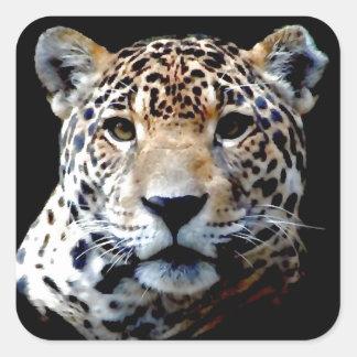 Jaguar Adesivo Quadrado