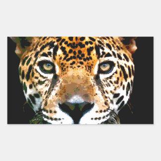 Jaguar Adesivo Retangular