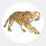 Jaguar Adesivos Redondos
