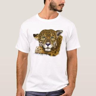 Jaguar coloriu camiseta