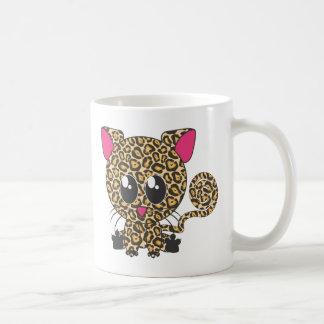 Jaguar de assento caneca de café