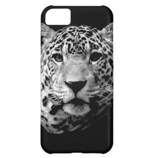 Jaguar preto & branco capa para iPhone 5C