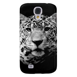 Jaguar preto & branco galaxy s4 cases