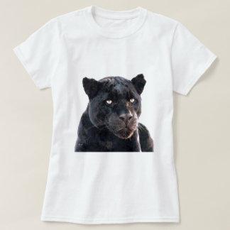 Jaguar preto camiseta