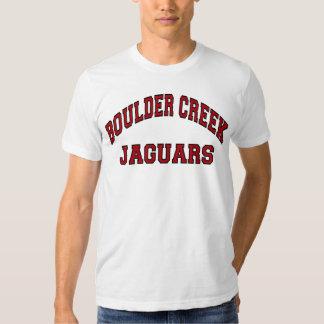 Jaguares da angra de Boulder Camisetas