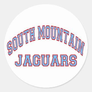 Jaguares sul da montanha adesivo