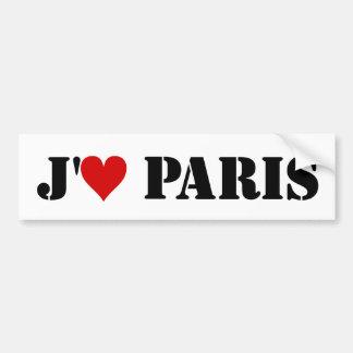 """""""J'aime Paris """" Adesivo Para Carro"""